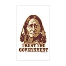 Trust the Government Decal