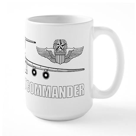 C-141 Pilot Large Mug