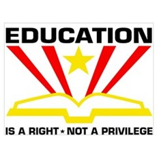 Education is a Right Poster