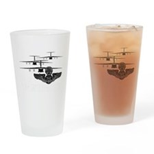 C-141 Flight Engineer Drinking Glass