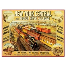 New York Central & Hudson Riv Framed Print