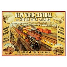 New York Central & Hudson Riv Poster