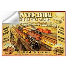 New York Central & Hudson Riv Wall Decal