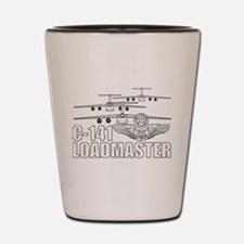 C-141 Loadmaster Shot Glass