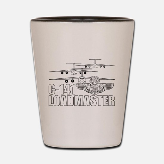 C-141 Loadmaster Shot Glass