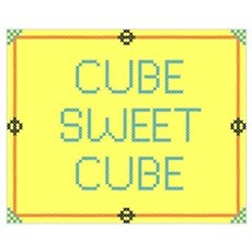 Cube Sweet Cube Poster