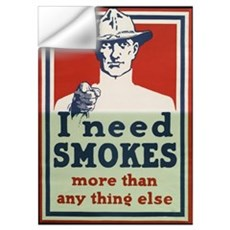 I Need Smokes Wall Decal