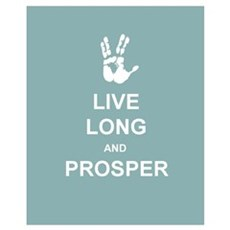 Live Long & Prosper Poster