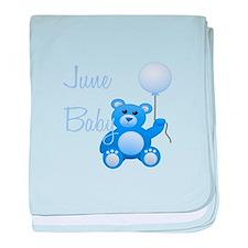 June Baby baby blanket