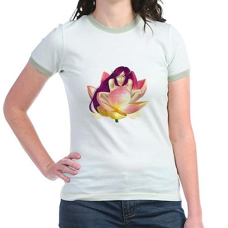 Lotus Jr. Ringer T-Shirt