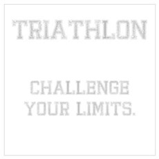Triathlon Challenge Your Limi Poster