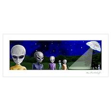 Alien Visit ~ Poster