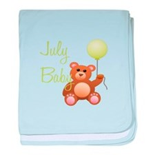July Baby baby blanket