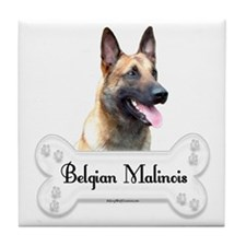Malinois 2 Tile Coaster