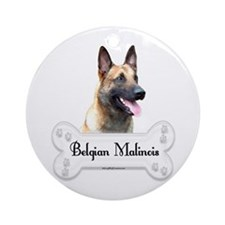 Malinois 2 Ornament (Round)