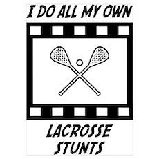 Lacrosse Stunts Poster