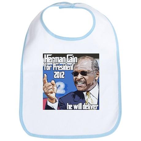 Herman Cain 2012 Election Pre Bib