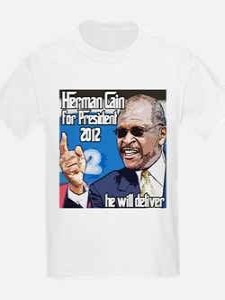 Herman Cain 2012 Election Pre T-Shirt