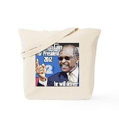 Herman Cain 2012 Election Pre Tote Bag