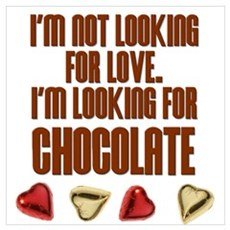 Looking for Chocolate Poster