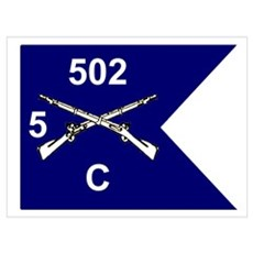 C Co. 5/502nd Poster
