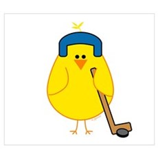 Hockey Chick Poster