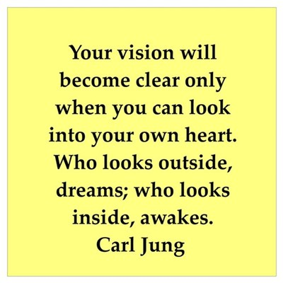Carl Jung quotes Poster