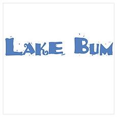 Lake Bum Poster