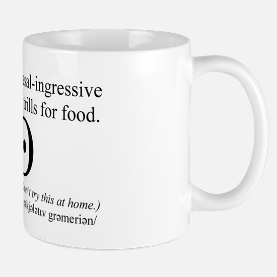 SpecGram Stupid Phonetics Small Mug