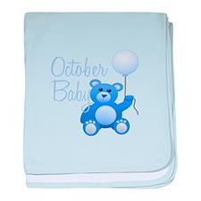 October Baby baby blanket