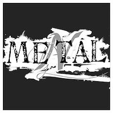 metal is mental Poster