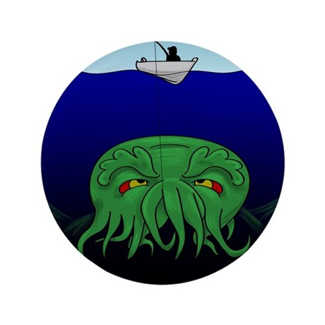 """Fishing for Cthulhu 3.5"""" Button"""