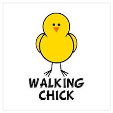 Walking Chick Poster