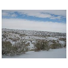 Desert Snow 1 Poster