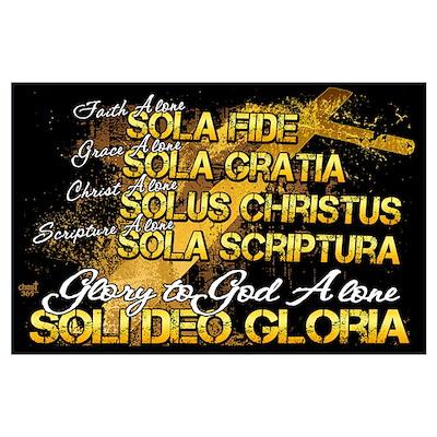 Soli Deo Gloria Poster