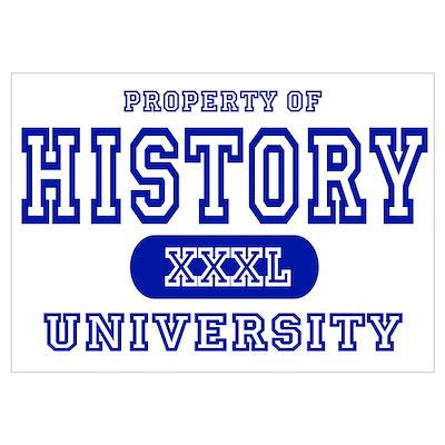 History University Poster