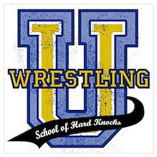 Wrestling U Poster