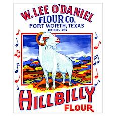 Hillbilly Flour Poster