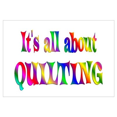About Quilting Poster