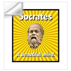 Socrates' Beautiful Mind Wall Decal
