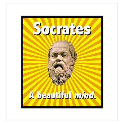 Socrates' Beautiful Mind Poster