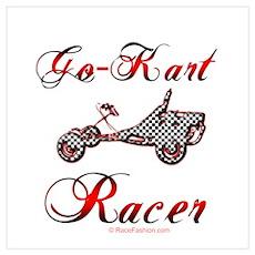 Go-Kart Racer Poster