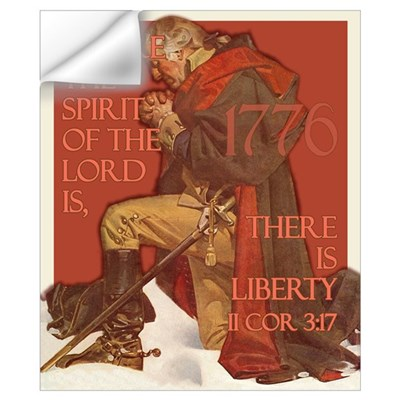 Washington- Liberty and the S Wall Decal