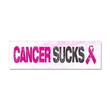 Cancer Sucks Car Magnet 10 x 3