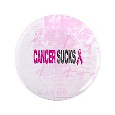 """Cancer Sucks 3.5"""" Button"""