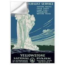 Yellowstone Park Wall Decal
