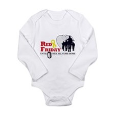 Red Friday - Until They All C Long Sleeve Infant B
