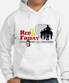 Red Friday - Until They All C Hoodie