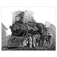 Age of Steam IX Print Canvas Art