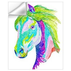 Rainbow Pony Wall Decal